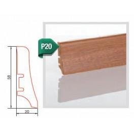 Lišta dub vysoký lesk P20