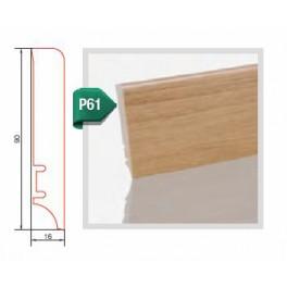 Lišta  dub  lak P61